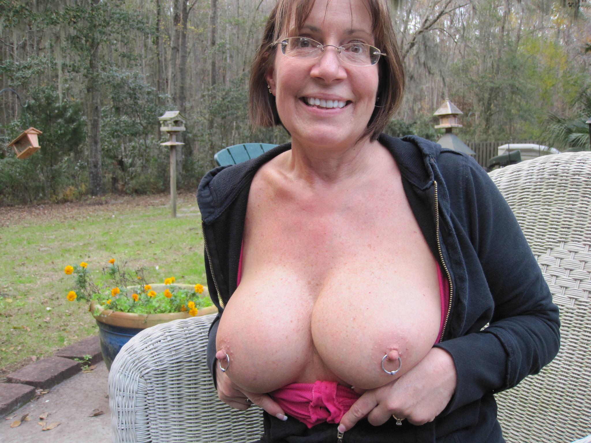 Old Mature Big Tits