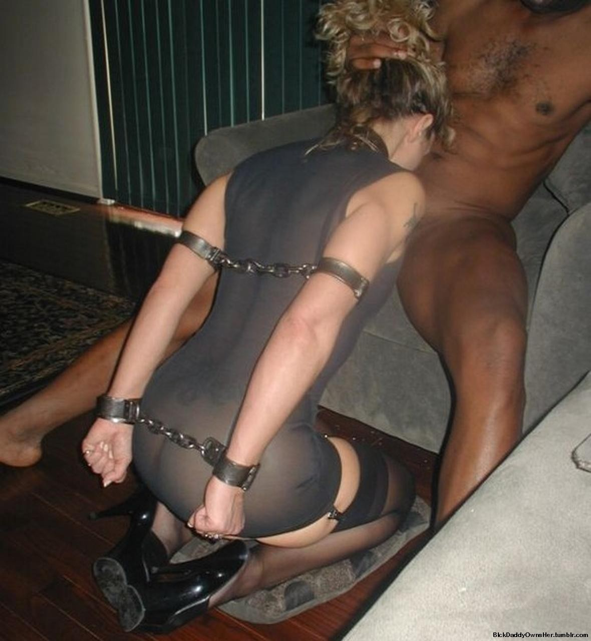 Submissive mature slut dressed