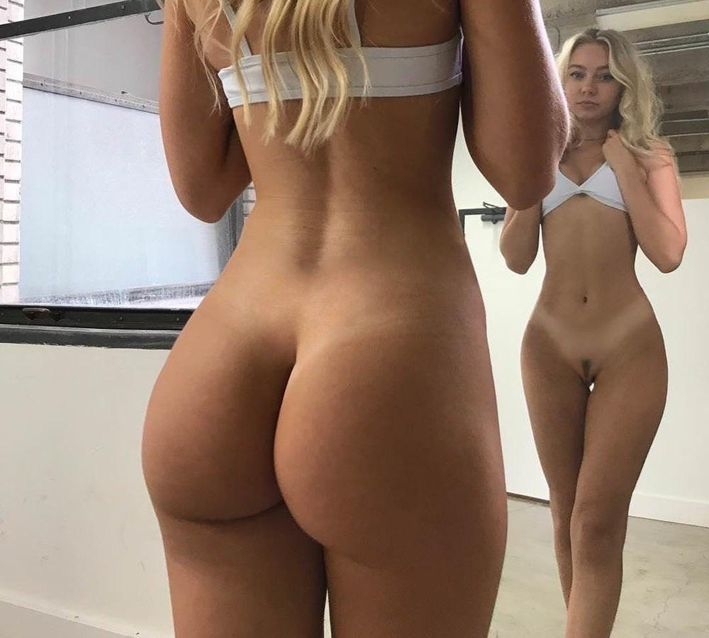 Huge Ass White Chick Nude