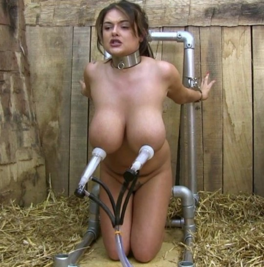 Hot young latina babe milking her huge tits