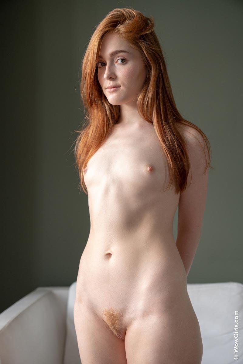 Little tits redhead