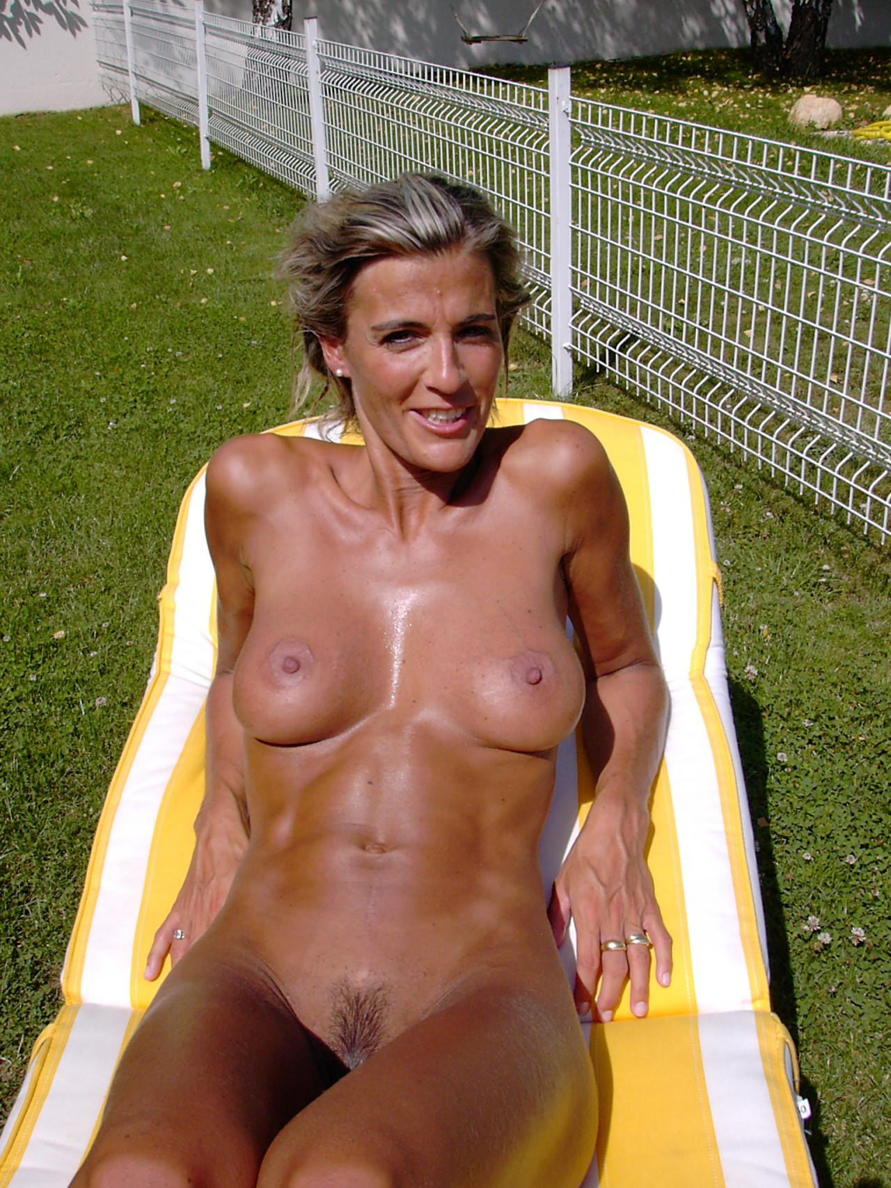 Mature sportsman naked #4