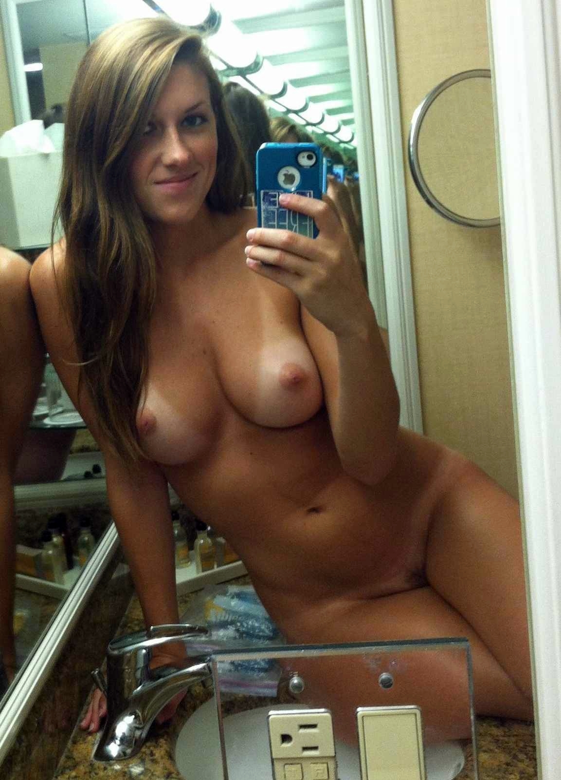 Hot girl shows off body