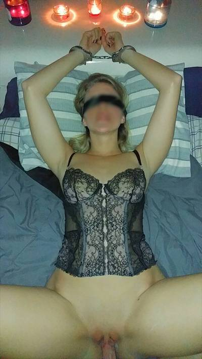Blindfolded, handcuffed, fucked