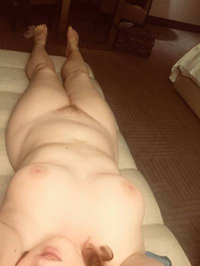 [oc] curves on the couch. Hotels just make my clothes fly off