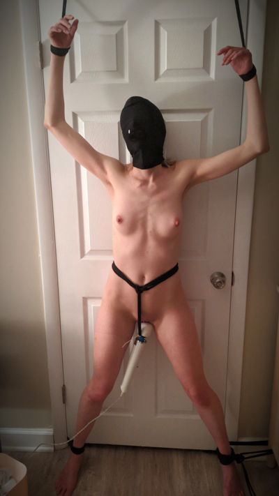 Been a while since my Dom played with me, so I [f]orgot what happens when I don't listen… [OC]