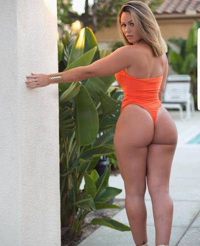 It can be bikini season all year with a phatty like that.