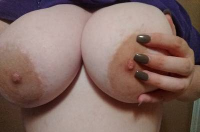 24 [OC] My giant pale breasts