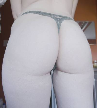 Pale booty [f]or your viewing pleasure!
