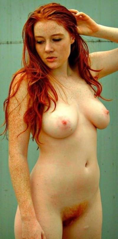 Pale Redhead with Freckles