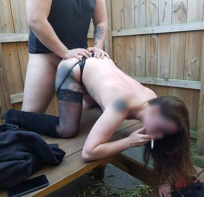 2017 Her first gangbang... she wanted to fuck this guy also, but she also wanted a smoke break. I love how she keeps everyone happy. [F]