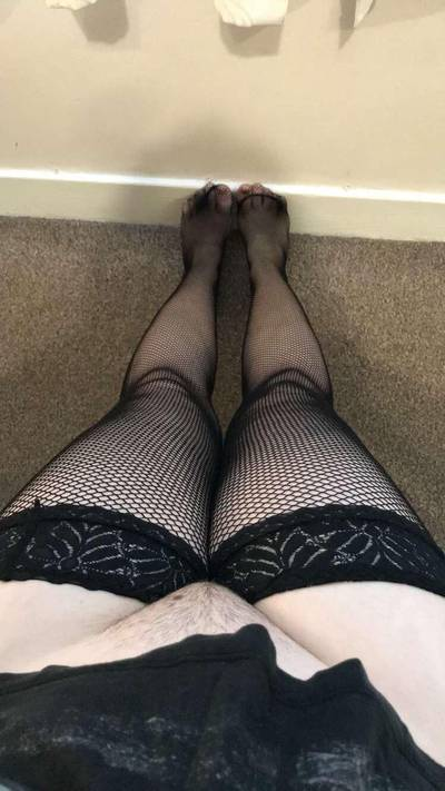[OC] any love for fishnet stockings?