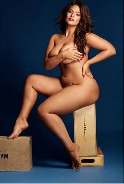 Ashley Graham is way hotter than the size zero models out there❤️