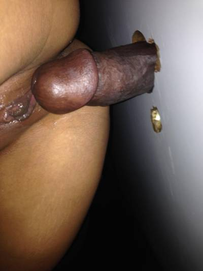 The HUGE BBC my wife took at the gloryhole . Check my other posts for the end result.